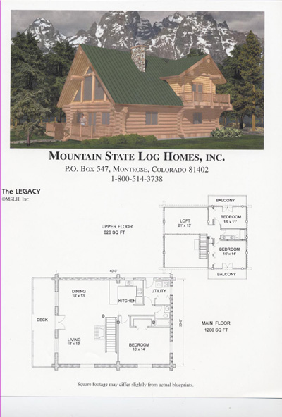 2000 2500 Sq Ft Mountain State Log Homes