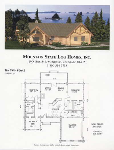 2500 3500 sq ft mountain state log homes for 2500 sq ft log home plans