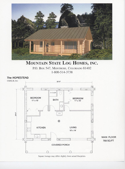 Less Than 1500 Sq Ft Mountain State Log Homes